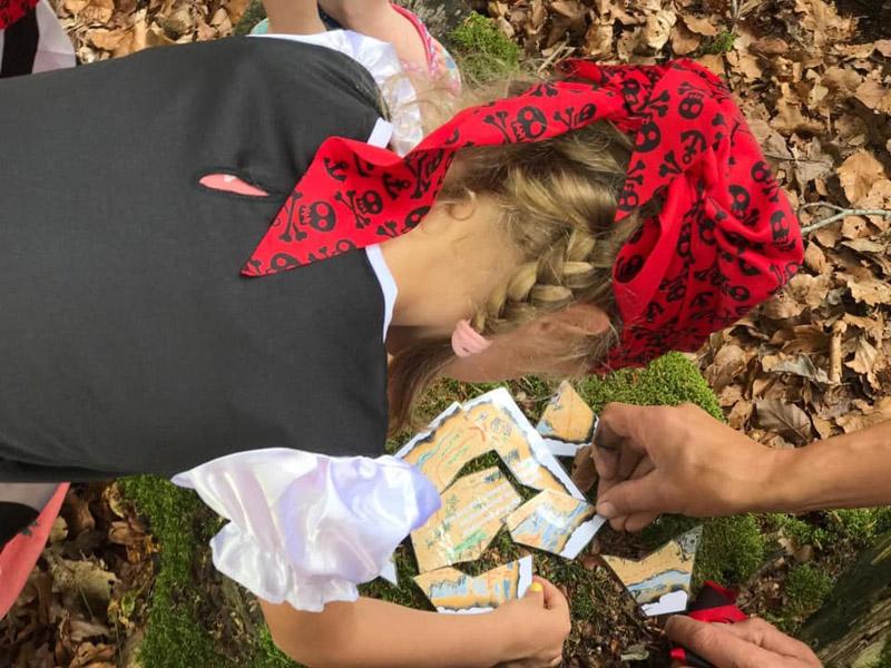 Feestdal: piraten kinderfeest